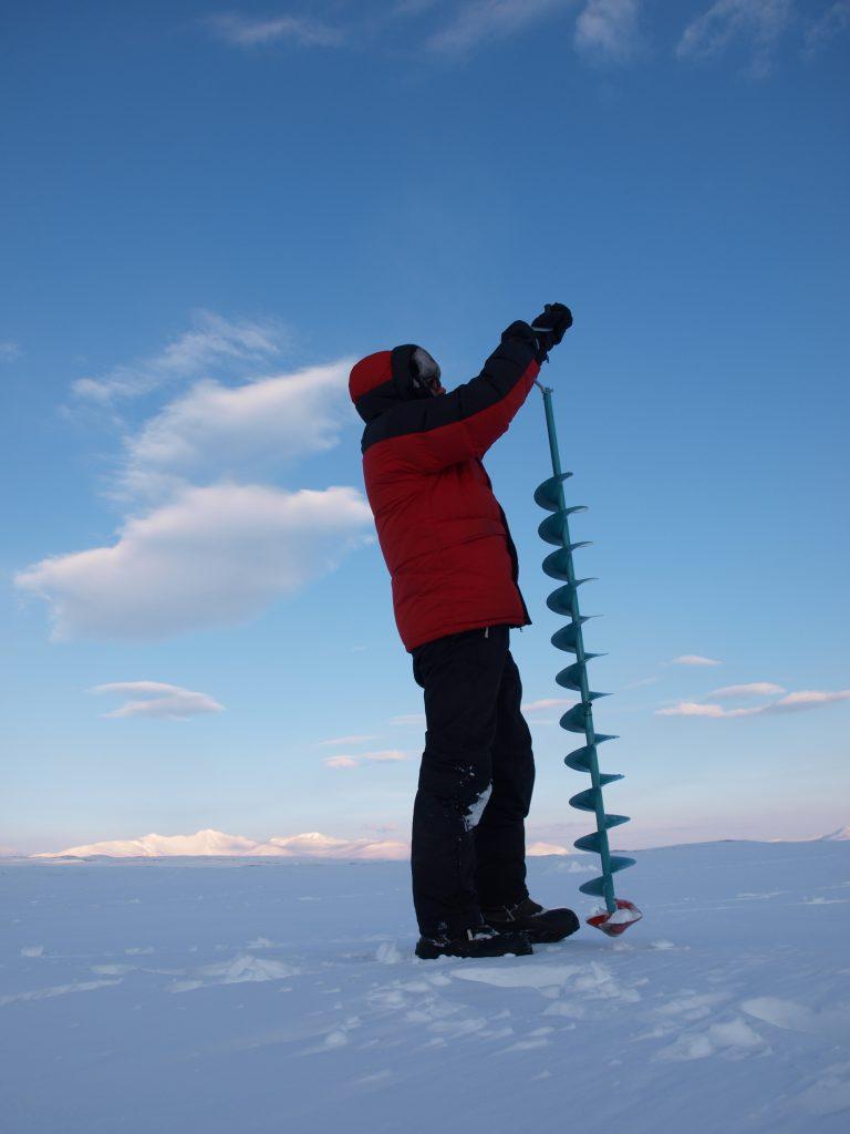 Isen kan være tykk, så husk forlenger - Cato Bekkevold