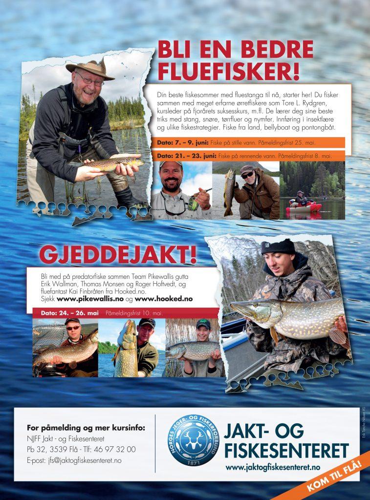 Plakat-fiskekurs. NJFF Flå