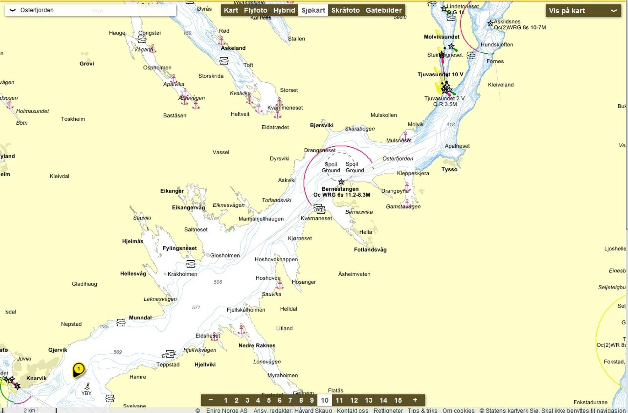 osterfjorden kart Hooked | Norges største nettsted for fiske og jakt | Side 209 osterfjorden kart