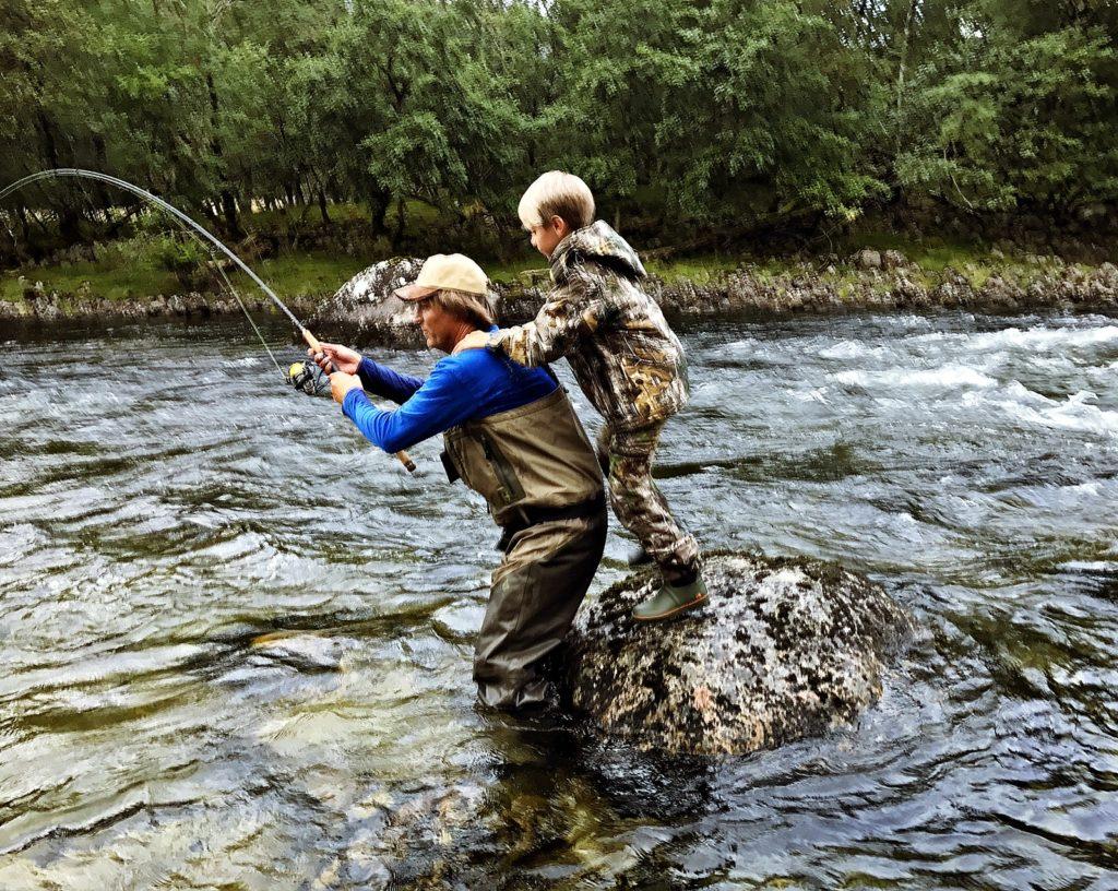 Fiskeravgift - for laks, sjøørret og sjørøye - Fiskeavgift