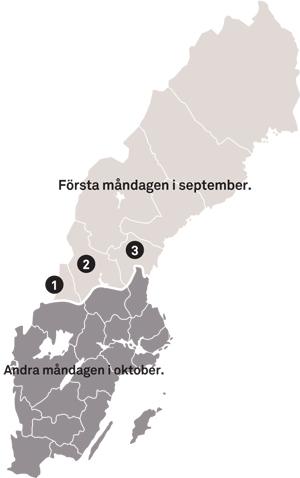 Elgjakt  - Jakttid elg Sverige